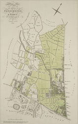 Plan of the parish of PADDINGTON in the County of Middlesex 5